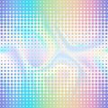 Abstract Halftone Double Seamless Border