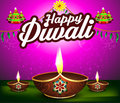Abstract happy diwali background with cracker