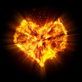 Abstract heart Royalty Free Stock Photography