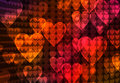 Abstract heart background Stock Photos