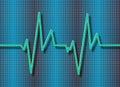 Cardiogram background