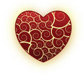 Abstract Heart Design Stock Photo