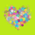 Abstract heart shape Royalty Free Stock Image