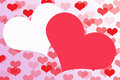 Abstract Heart shape on background,Clipart.