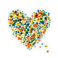 Abstract heart shape for your design Stock Photography