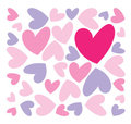 Abstract hearts Stock Photos