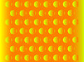 Abstract hemisphere orange background Stock Images