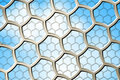 Abstract Hexagon Background Royalty Free Stock Image