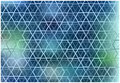 Abstract hexagons grid background