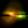 Abstract hi tech design bright vector technology background Stock Photo