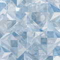 Abstract ice geometric background creative Stock Image