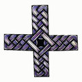Abstract illustration of Celtic cross Royalty Free Stock Photo