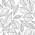 Abstract illustration of leafs. Vector Stock Images