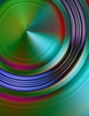 Abstract Illustration - Metallic 3d Stock Photography