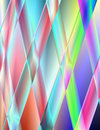 Abstract Illustration - Rainbow Pipes Royalty Free Stock Photography