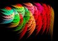 Abstract image : fractal vortex.