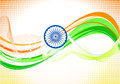 Abstract indian independence day wallpaper Royalty Free Stock Image