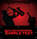 Abstract Jazz music background Stock Photography