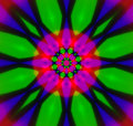 Abstract kaleidoscope Royalty Free Stock Image