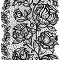 Abstract Lace Ribbon pattern