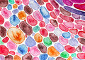 Abstract lacy watercolor texture.