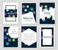 Abstract layout background set. For art template design, list, front page, mockup brochure theme style, banner, idea, cover