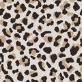 Abstract leopard skin seamless pattern. Animal fur wallpaper Royalty Free Stock Photo