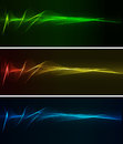Abstract light background wiht color spotlight Royalty Free Stock Images