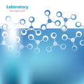 Abstract light blue background medical laboratory Royalty Free Stock Photos