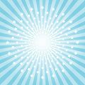 Abstract light Blue rays and stars background. Vector EPS 10 cmyk Royalty Free Stock Photo