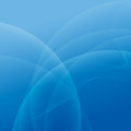 Abstract light and blue wave lines background Royalty Free Stock Photo