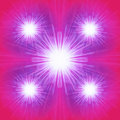 Abstract light bursts Royalty Free Stock Photo