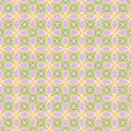 Abstract light colorful tile pattern.  Multicolor mosaic texture background. Seamless illustration. Royalty Free Stock Photo
