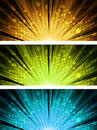 Abstract light explosion backgrounds Royalty Free Stock Photo