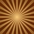 Abstract light yellow sun rays background. Vector illustration eps 10