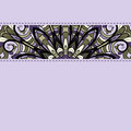 Abstract lilac pattern stripe ornament decorative stitches Royalty Free Stock Photos