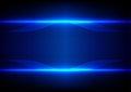 Abstract Line Blue Light Effec...