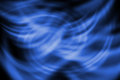 Abstract line with twirl blue background on Stock Photo
