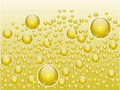 Abstract liquid bubbles Royalty Free Stock Photography