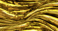 Abstract liquid gold metal background Royalty Free Stock Photo