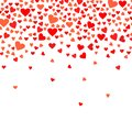 Abstract love background for your Valentines Day greeting card design