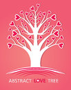 Abstract love tree. Stock Photography