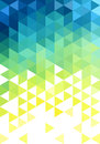 Abstract low poly background vector blue green triangle pattern Royalty Free Stock Photo