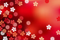 Abstract Luxury Blossom Background Stock Image