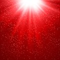 Abstract magic red light background Royalty Free Stock Photo