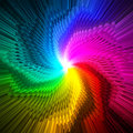 Abstract magic star prism colors background