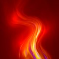 Abstract magical flame illustration colorful background Royalty Free Stock Photo