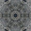 Abstract mandala design template