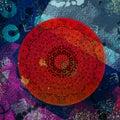 Abstract Mandala Digital Artwork Wallpaper Printable Royalty Free Stock Photo