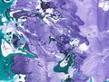 Abstract marble hand painted background in modern art style with fluid free-flowing ink and acrylic painting technique.